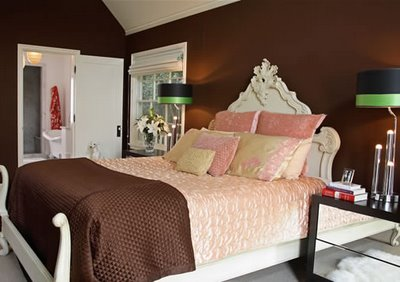 pink and brown bedroom designs chocolate brown bedroom walls home design inside 19438